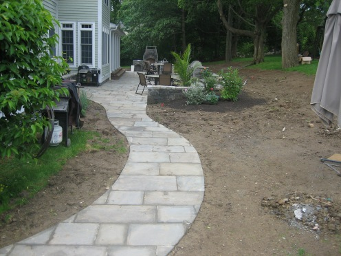 walkway build